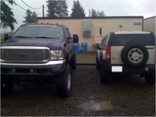 Hummer side by side